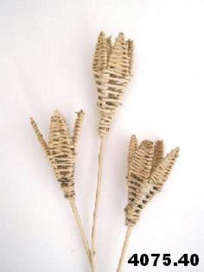 Picture of Lata lily - přírodní, na stonku (5ks)