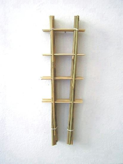 Obrázok z Rebrík bambusový 120 cm - BALENIE 10ks