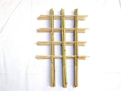 Picture of Žebřík bambusový dvojitý 45 cm - BALENÍ 5ks