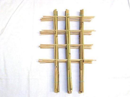 Picture of Žebřík bambusový dvojitý 60 cm - BALENÍ 5ks