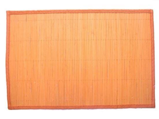 Obrázek z Bambusové prostírání 30x45cm - oranžová