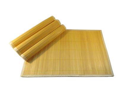 Obrázok z Bambusové prestieranie 30x45cm - žltá