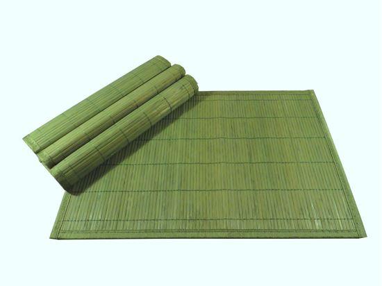 Picture of Bambusové prostírání 30x45cm - zelená