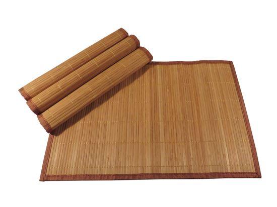 Obrázek z Bambusové prostírání 30x45cm - hnědá