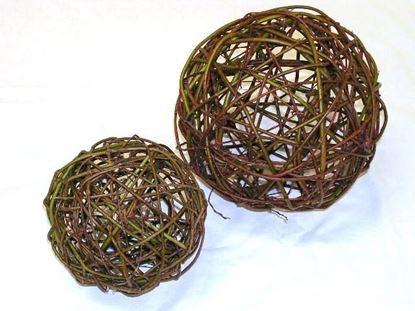 Obrázek Proutěná koule 20cm