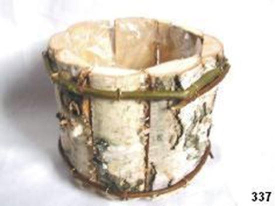Obrázek z Obal kulatý - bříza, s fólií