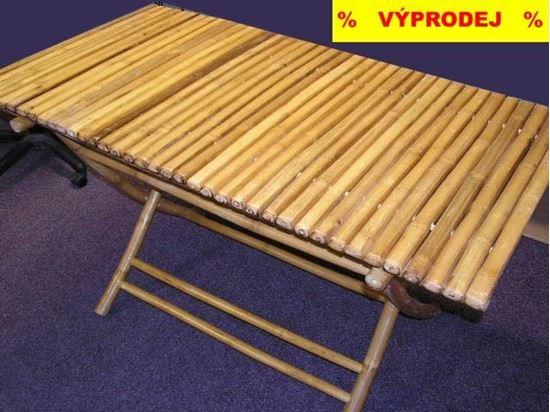 Picture of Stůl bambusový