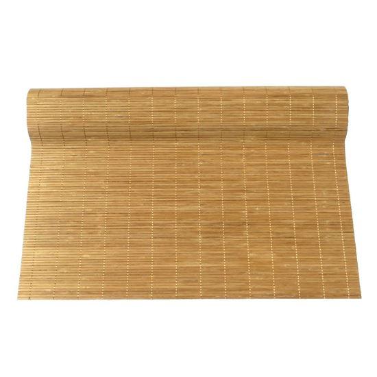 Obrázek z Rohož na stěnu - bambus 70x200 světle hnědá