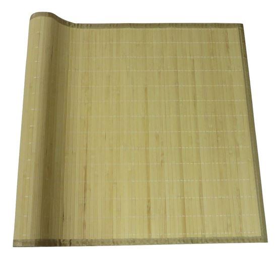 Obrázek z Rohož bambusová 70x200 světlá - obšitá