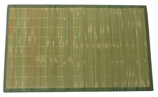 Obrázek z Rohož / Předložka na podlahu - bambus 60x90 zelená