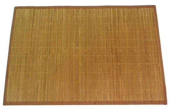 Obrázek z Rohož / Předložka na podlahu - bambus 60x90 hnědá
