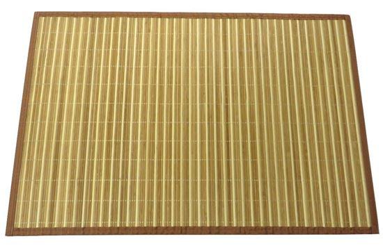 Obrázok z Rohož / Predložka na podlahu - bambus 60x90 kombinovaná