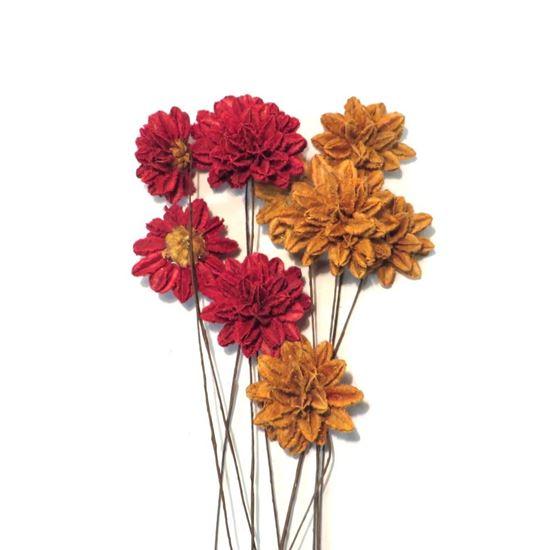 Obrázek z Arjun flower - barevná, na stonku (10 ks)
