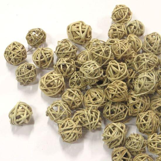 Obrázek z Lata ball 2cm - přírodní (100ks)