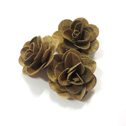 Obrázek Deco růže malá - přírodní (50ks)