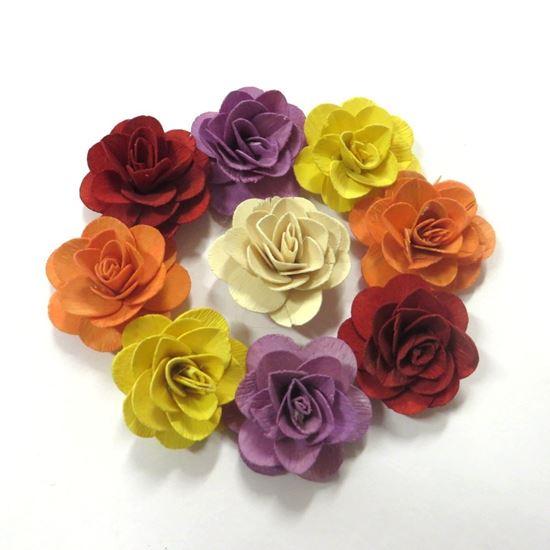 Obrázok z Deco ruža malá - farebná (50ks)