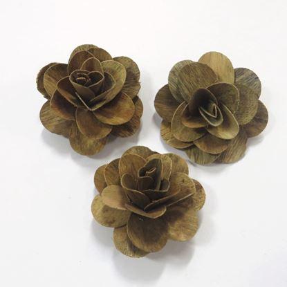 Obrázok z Deco ruža stredná - prírodná (50ks)