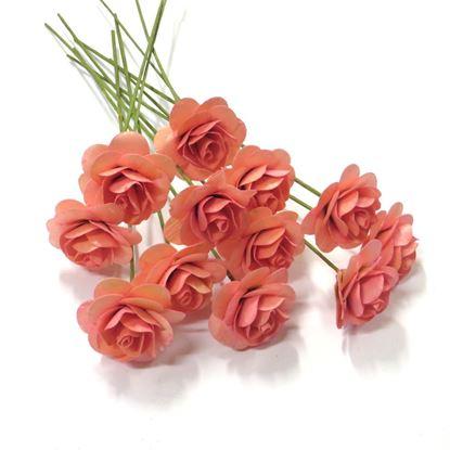 Obrázok z Deco ružičky - ružová (12ks)
