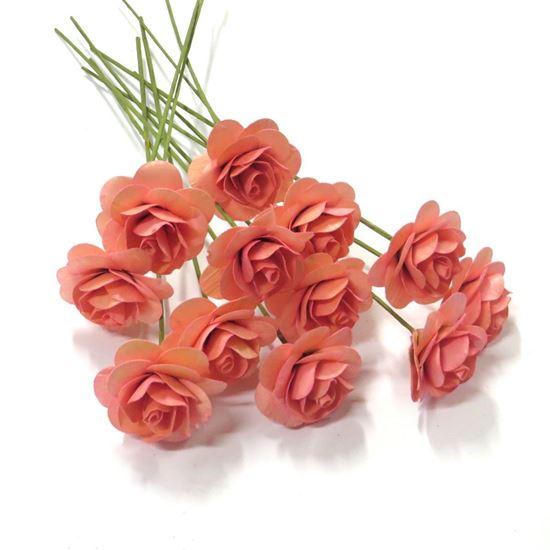 Obrázek z Deco růžičky - růžová (12ks)