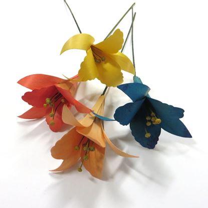 Obrázok z Deco ľalie - farebné (2ks)