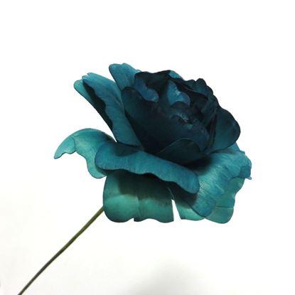 Obrázok z Deco ruža - modrá (2ks)