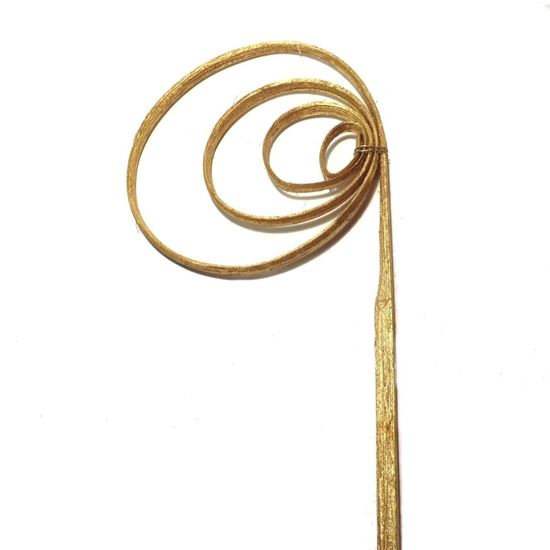Obrázek z Cane coil (cane circle) - zlatá, stříbrná (25ks)