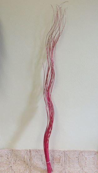Obrázek z Weiden twisted - svazek - glitrovaná tmavě růžová