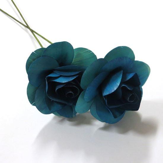Obrázok z Deco ruža - farebná (2ks)