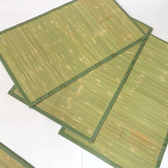 Obrázek z Rohož / Předložka na podlahu - bambus 45x75 zelená - 2.JAKOST