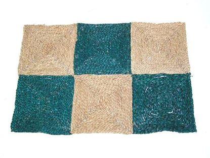 Obrázok z Rohož na podlahu - morská tráva 90x120 zelená