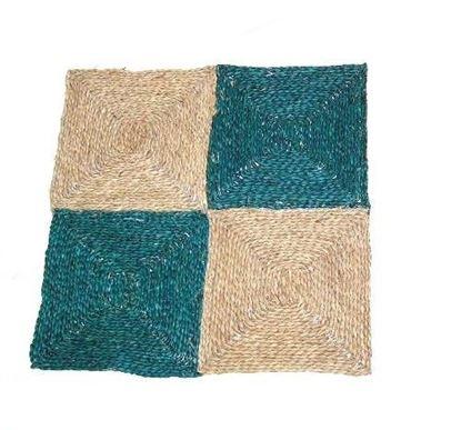 Obrázek Rohož na podlahu - mořská tráva 60x60 zelená
