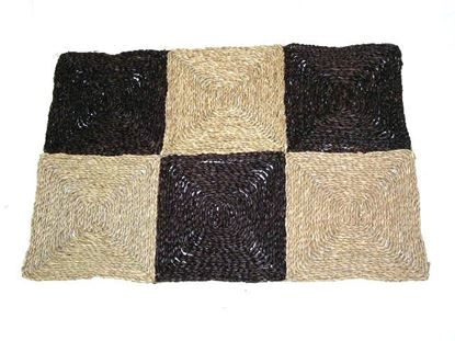 Obrázek Rohož na podlahu - mořská tráva 90x150 hnědá