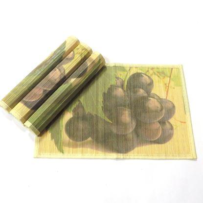 Obrázek Bambusové prostírání 30x45cm - hrozno
