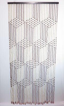 Obrázek Závěs 90x200cm - dřevěný