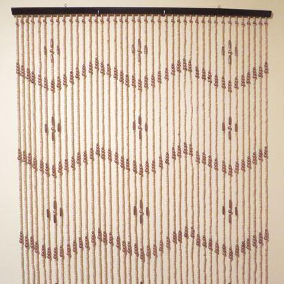 Obrázek Závěs 120x200cm - dřevěný
