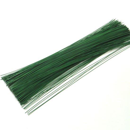 Picture of Drát vázací 0,7mm, délka 40cm - zelený - 2kg