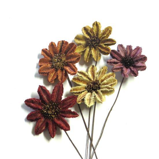 Obrázok z Arjun sunflower - farebná, na stonke (15ks)
