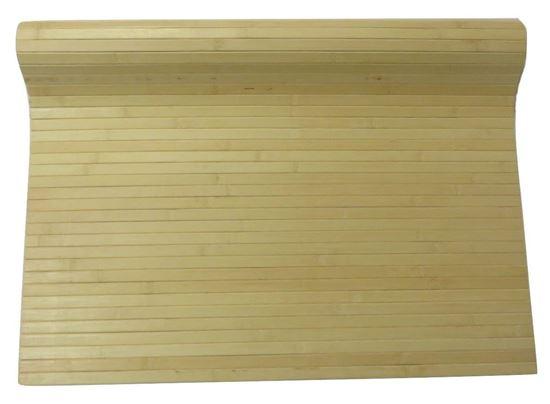 Obrázok z Rohož na stenu - bambus 90x100 svetlá