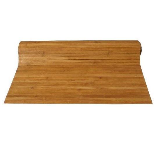 Obrázok z Rohož na stenu - bambus 90x100 hnedá
