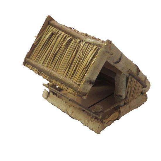 Obrázok z Krmítko pre vtáčiky - drevené